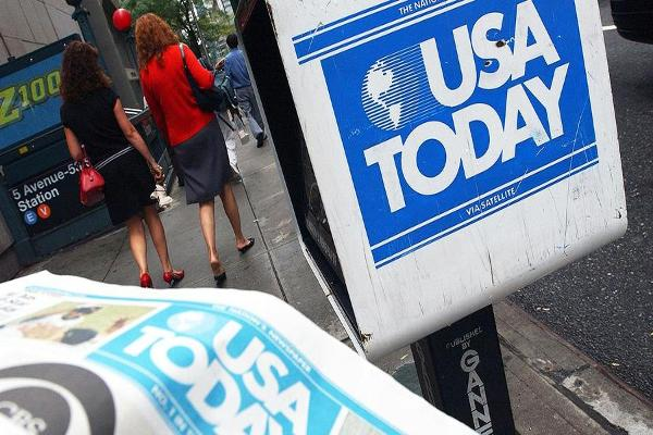 Midday Report: Gannett Abandons Tronc Bid; U.S. Stocks Fall on Election Uncertainty