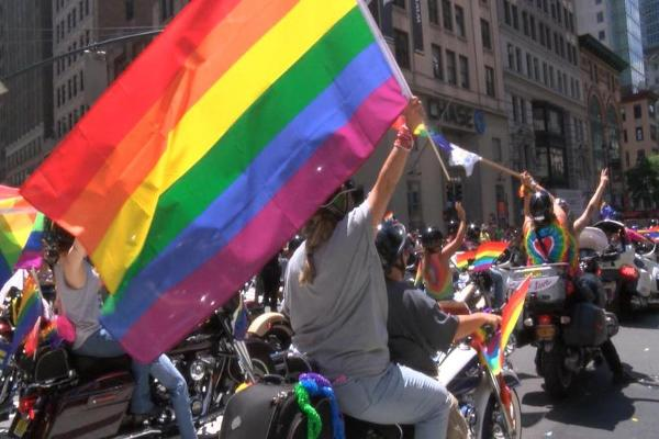 Sunday's NYC Pride Parade Certainly Turned Heads