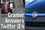 Jim Cramer Answers Twitter Questions on Fiat Chrysler, Twitter, Verizon, and Others