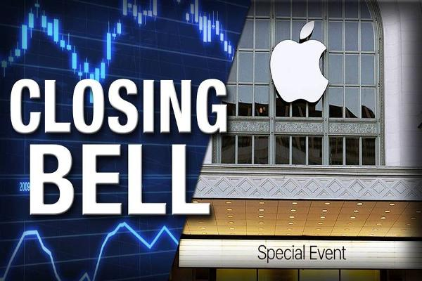 Closing Bell: Apple Announces March Event; U.S. Stocks Slide on Oil