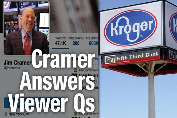 Jim Cramer Says Own Kroger, Expedia and Macy's, But Not Broadcom