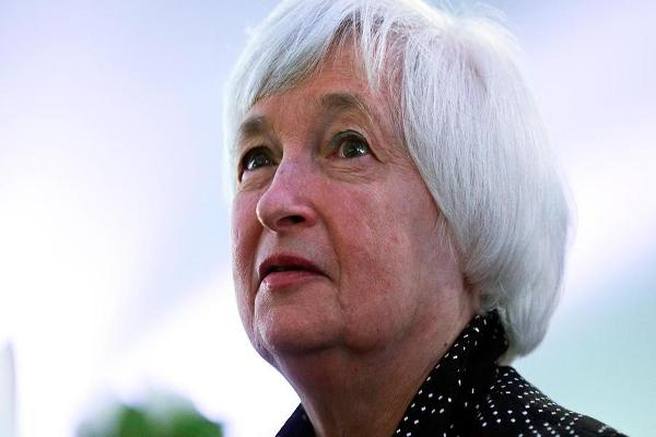 Wall Street Readies Friday for Fed Chair Yellen's Speech