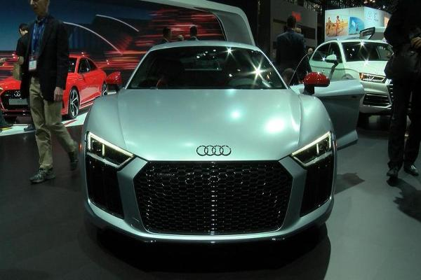 Get a First Look at Audi's $165,000 Sports Car With Laser Lights