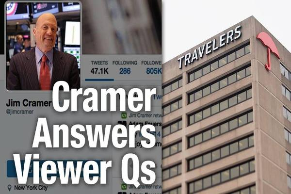 Jim Cramer Likes Traveler's, AIG, Activision, Take Two Interactive