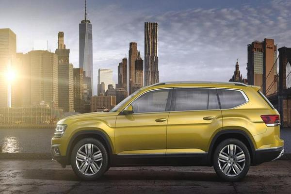 Struggling Automaker Volkswagen Introduces New Atlas SUV for the American Market