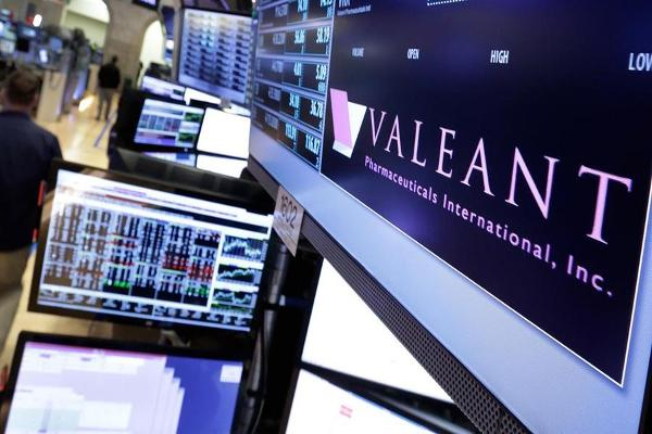 Midday Report: Valeant Jumps on FDA Approval; Dow at Records