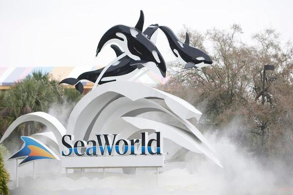 Midday Report: Declining Attendance Hurts SeaWorld; Factory Orders Fall