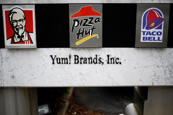 Midday Report: Yum! Brands Climbs on Franchise Plan; U.S. Stocks Slide