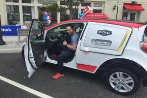 I Test Drove Domino's Pizza's New High Tech Delivery Car -- Here Is What Happened