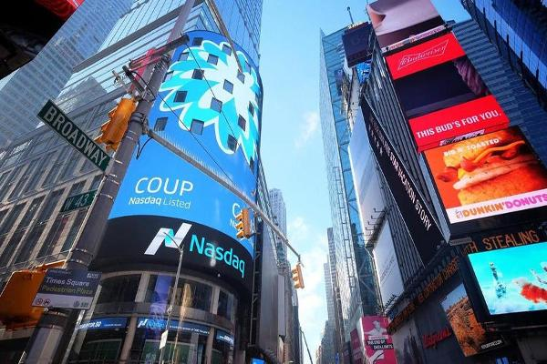 Shares of Software IPO Coupa Surge in Their Nasdaq Trading Debut