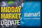 Midday Report: Walmart Tests Smartphone Payment; Stocks Climb