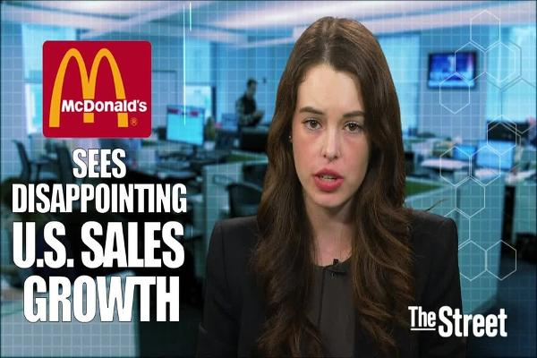 McDonald's Shares Slip on Disappointing Sales Growth