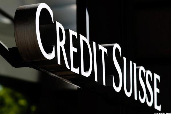 Credit Suisse Stock Rises on Revenue Growth
