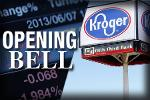 U.S. Stocks Open Slightly Higher as Kroger Makes an Offer to Buy Roundy's