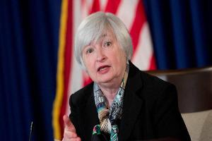 U.S. Stocks Fall Ahead of Janet Yellen Speech; Q2 GDP Revised Lower