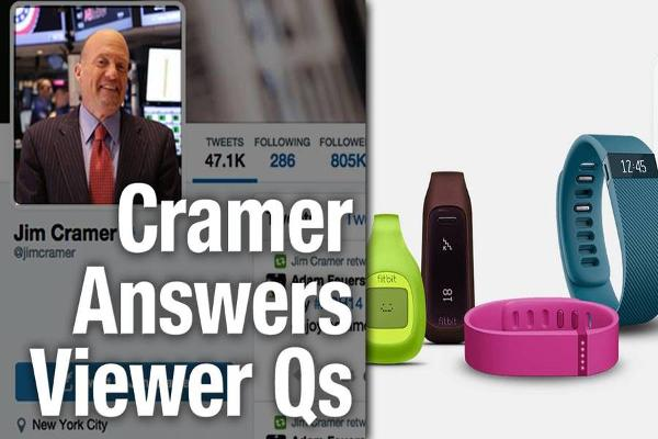 Jim Cramer Throws Fitbit Into the Penalty Box on Weak Guidance