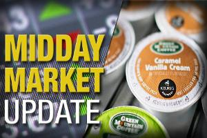 Midday Report: Keurig Deal Boosts Peers; Energy Stocks Slump