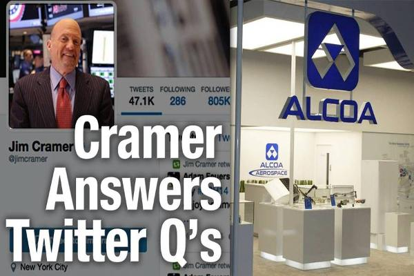 Cramer: You Won't Get a Pop in Alcoa Until After RTI Deal Closes
