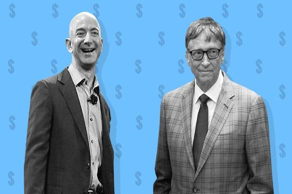 Amazon's Jeff Bezos Is Close to Dethroning Bill Gates as the World's Richest Man