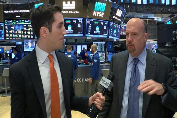 Jim Cramer Talks Snap, Facebook, Twitter, Costco, Wells Fargo, Bank of America and AMD