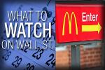 What to Watch in the Week Ahead: Will Investors Be Lovin' McDonalds?