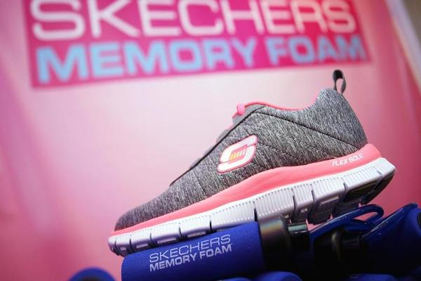 Skechers Stock Rises, Launches New Shoe