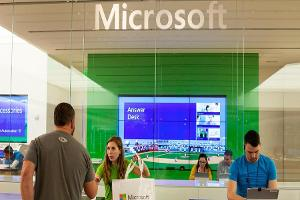 Here's Why Shares of Microsoft Were Higher in Tuesday's Session
