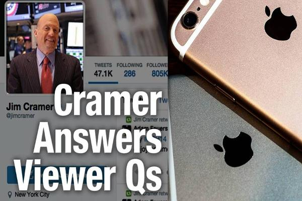 Jim Cramer Says Skyworks Will Benefit From Higher iPhone Sales