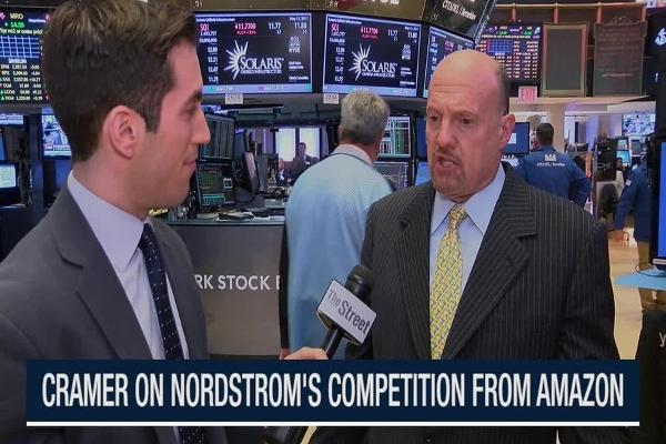 Jim Cramer: Nordstrom Doesn't Know Its Customer Like Amazon Does