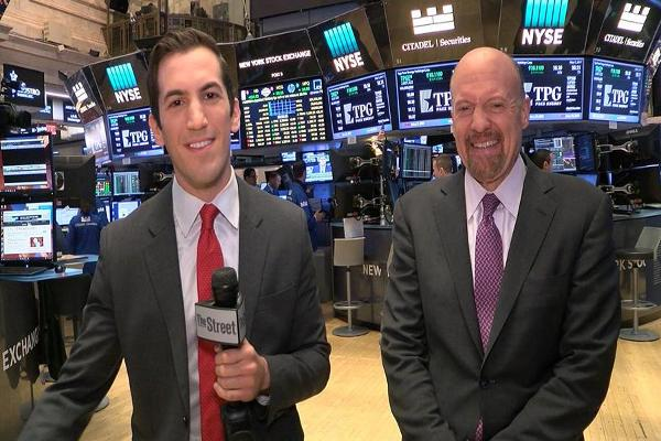 Jim Cramer on Jobs, Apple, Warren Buffett, IBM, Shake Shack, GE and Oil