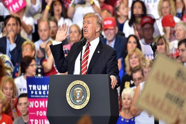 President Trump's Arizona Speech Was 'Over the Top,' Jim Cramer Says