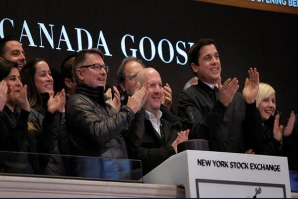 PETA Activists Call Out Canada Goose for Its Use of Fur Outside the NYSE
