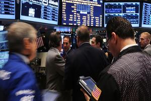 Dow Dull Except for Deal Stocks