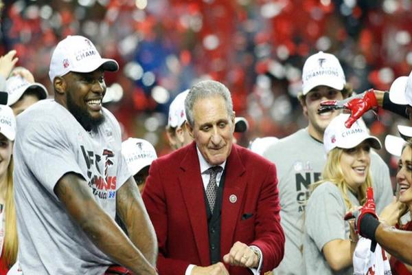 Home Depot Co-Founder and Falcons Owner Has Big Super Bowl Plans