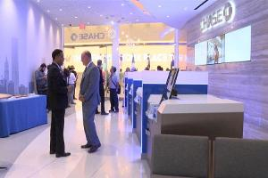 Chase Bank Branch Returns to World Trade Center