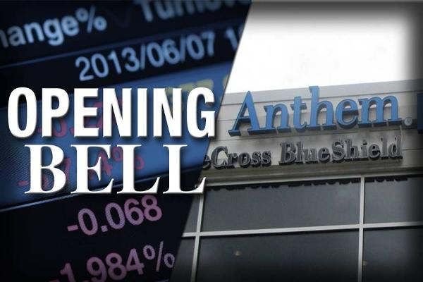 U.S. Stocks Open Higher as Anthem Buys Cigna in $54 Billion Deal