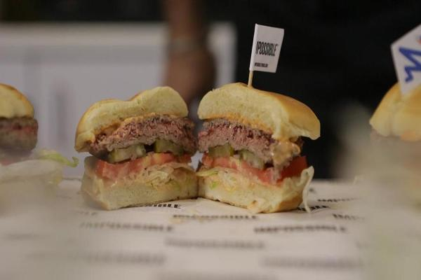 Can the Plant-Based 'Impossible Burger' Really Taste Like Meat?
