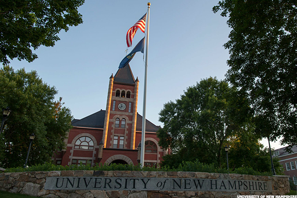 New Hampshire: University of New Hampshire