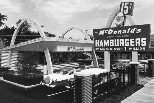 McDonald's oldest location in Downey, Calif.