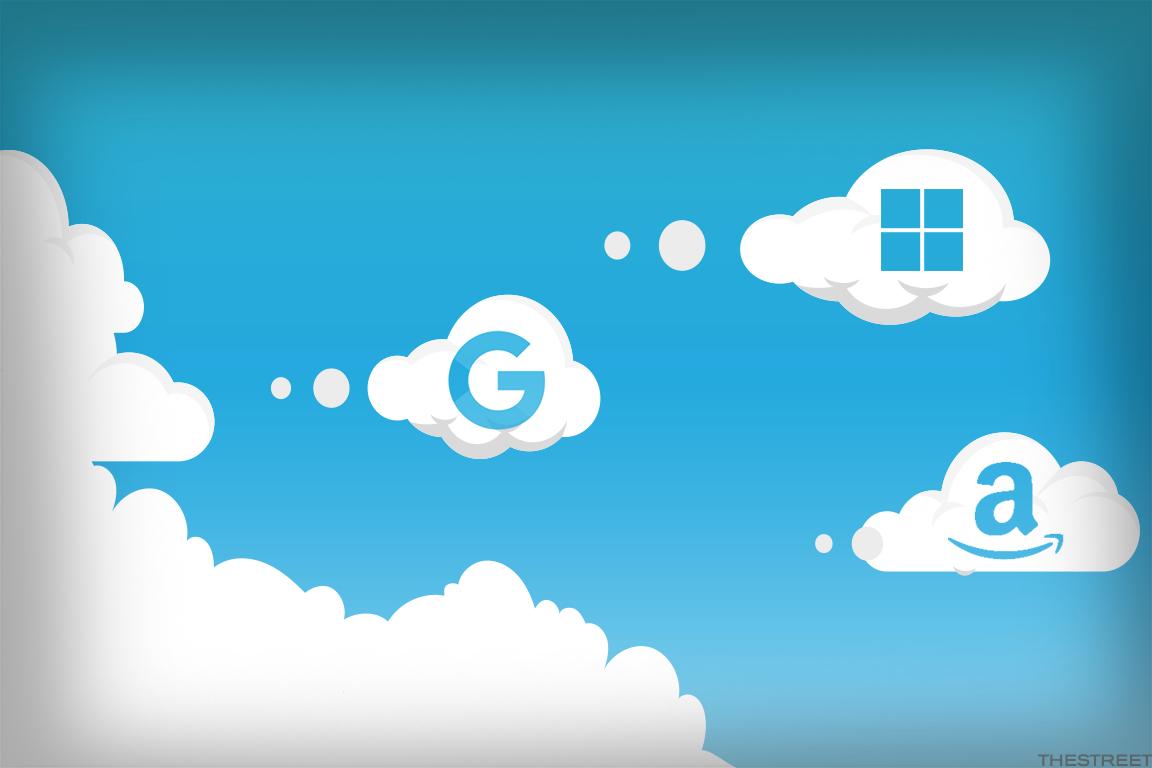 Tech Giants Amazon, Microsoft, Google and IBM Keep Their Heads in the Cloud