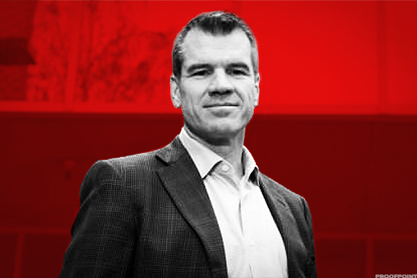 Gary Steele, Proofpoint CEO.