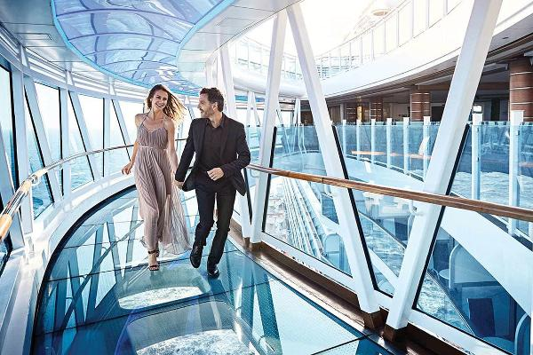 Take a Stroll on a Glass Walkway