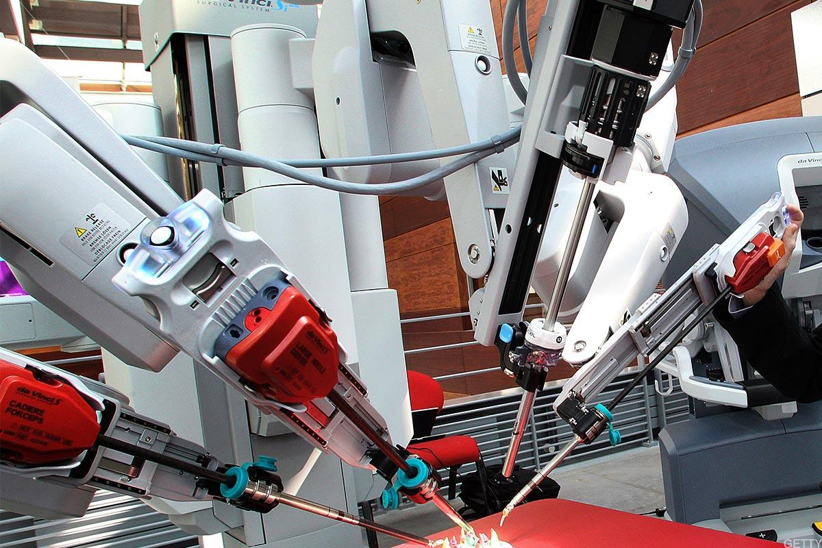 Intuitive Surgical Surges After Robotic Surgery Company Beats Estimates