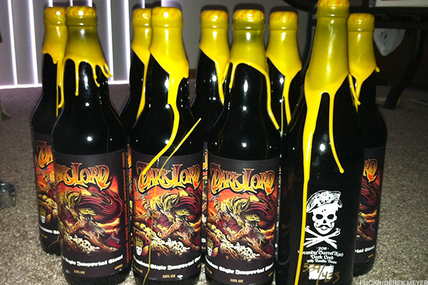 7. 2011 3 Floyds Brandy Vanilla Dark Lord
