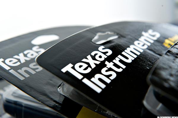 Texas Instruments in a Texas-Sized Rally