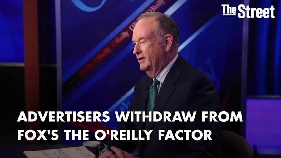 Advertisers Are Fleeing Fox's The O'Reilly Factor - TheStreet