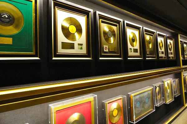 His Gold Records