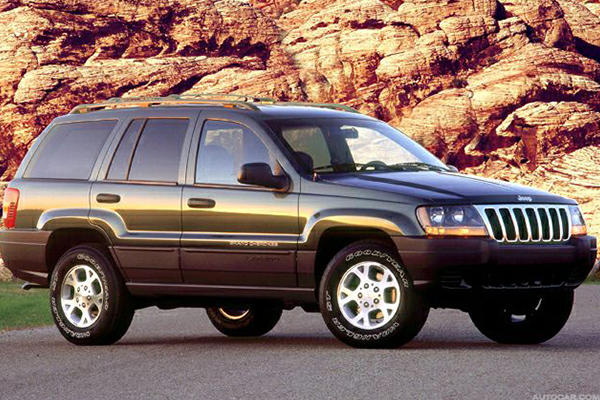 10. Jeep Cherokee and Grand Cherokee