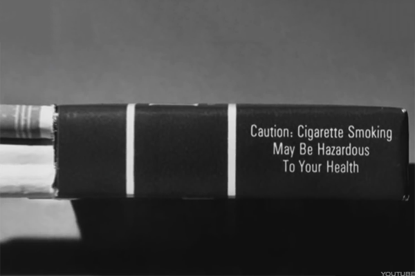 1965: Cigarette Labeling and Advertising Act