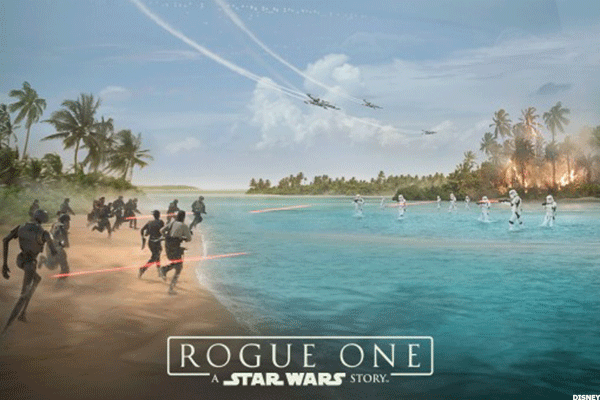 Disney Hitches 'Star Wars' Franchise to 'Rogue One' Spinoff